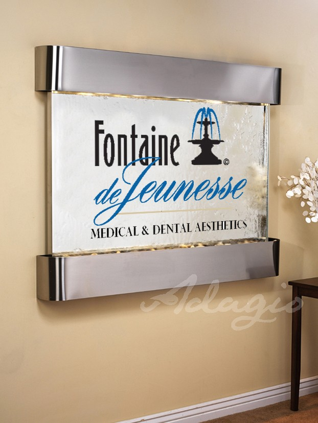 Fontaine Logo Water Feature