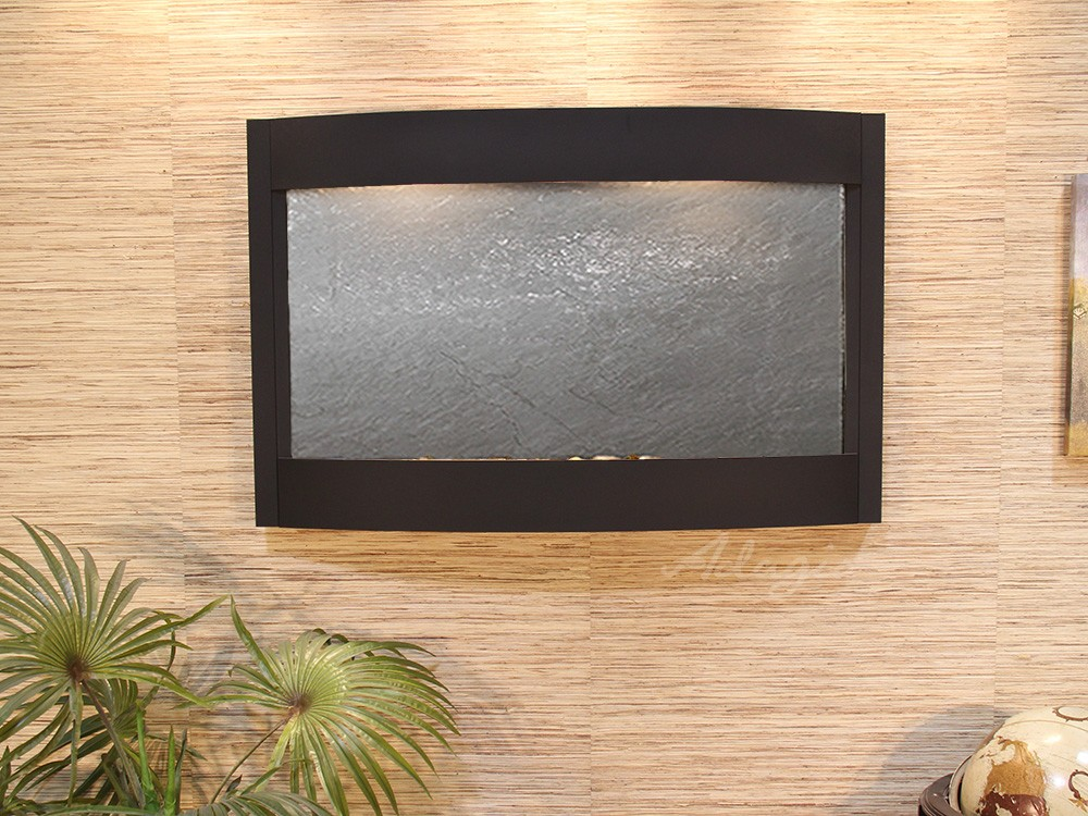 Calming Waters - Black FeatherStone - Textured Black