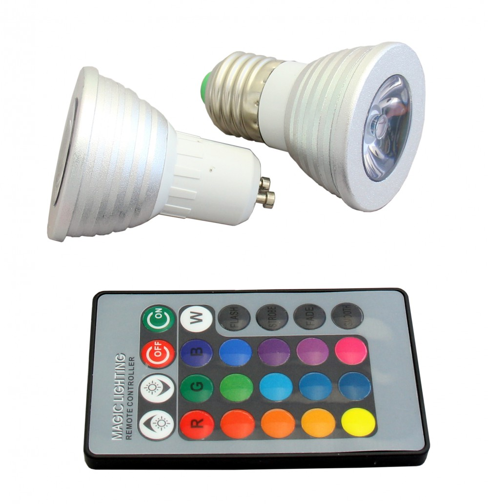 LED Lights (Programmable) with Remote Control