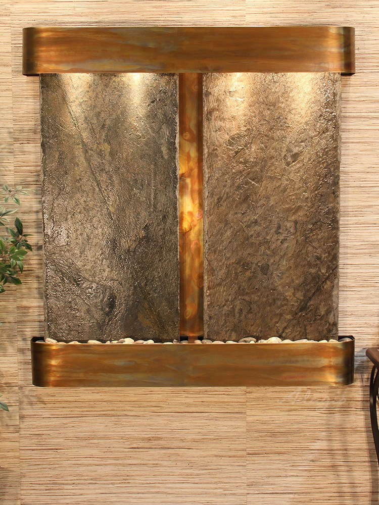 Aspen Falls - Bronze Mirror - Stainless Steel - Squared