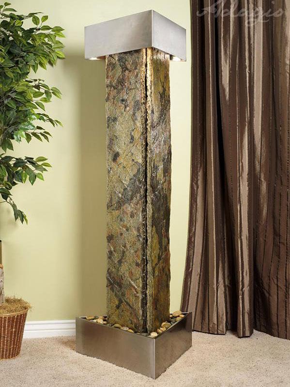 Artesian Springs - Green Slate - Stainless Steel