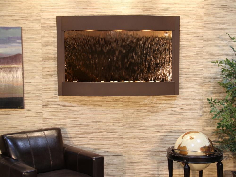 Calming Waters - Bronze Mirror - Woodland Brown