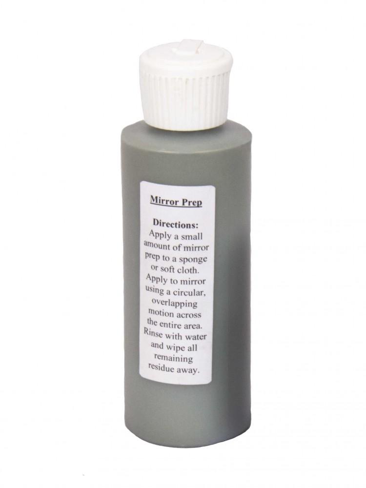 Glass/Mirror Prep - 4 oz bottle