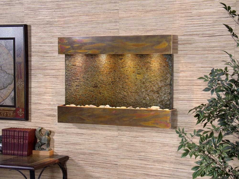 Reflection Creek - Multi-Color Slate - Rustic Copper