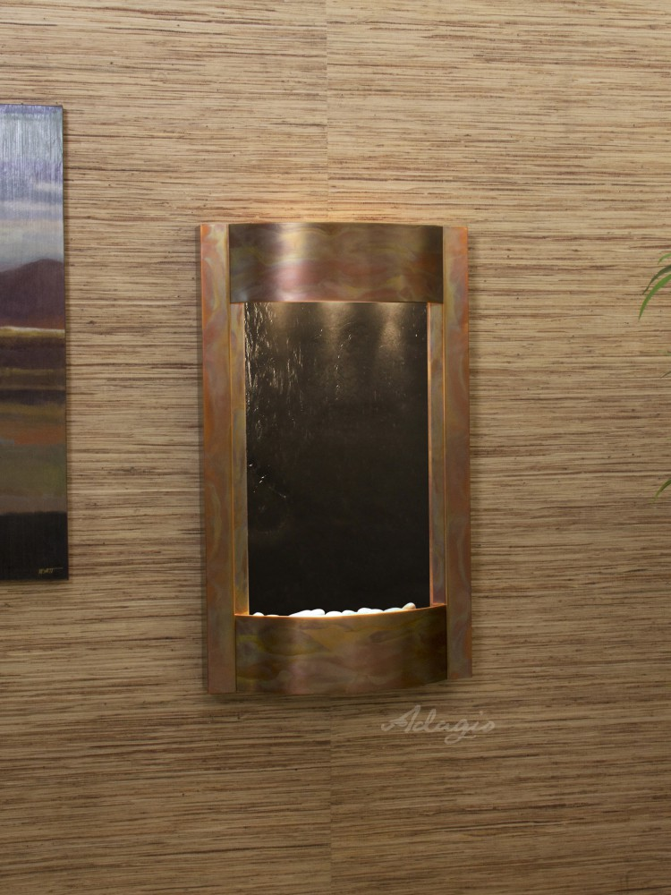 Serene Waters - Bronze Mirror - Copper Vein