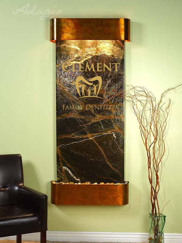 Clement Logo Water Feature