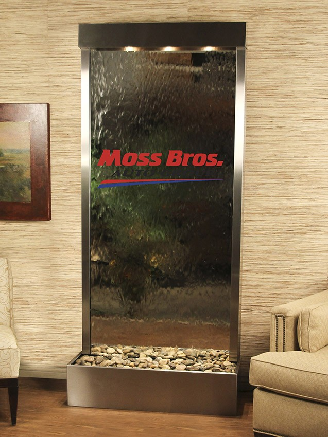 Moss Bros Logo Water Feature